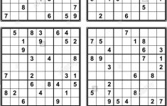Sudoku Printable Very Easy
