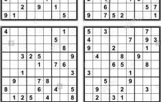 Sudoku Printable Answers