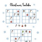 Free Christmas Printables   Sudoku   Mama Geek