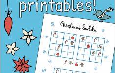 Free Christmas Printables – Sudoku – Mama Geek