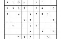 Free Downloadable Sudoku Puzzle Easy #1 | Sudoku Puzzles