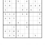 Free Downloadable Sudoku Puzzle Easy #4 | Sudoku Puzzles