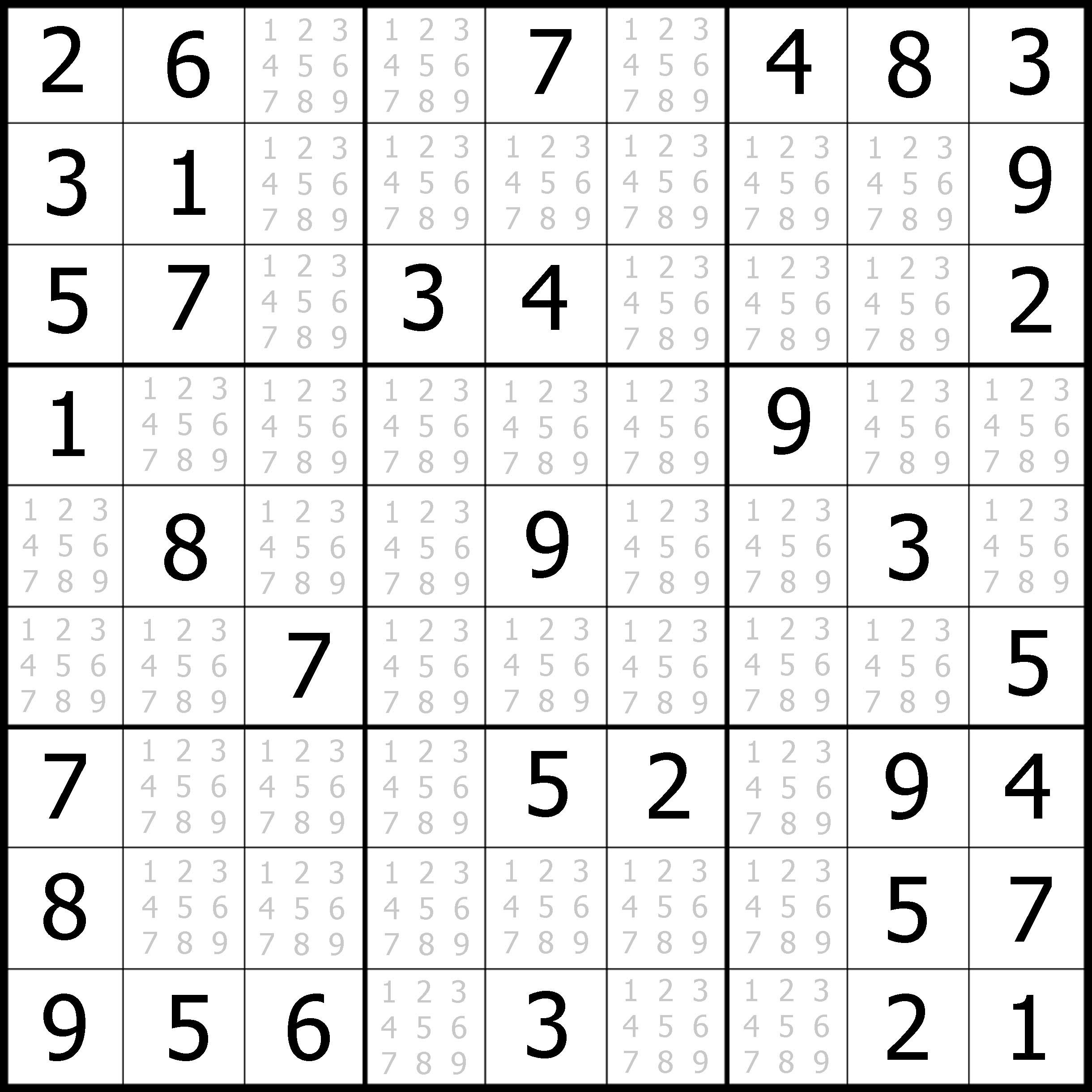 Free Easy Sudoku Puzzle #05 | Sudoku Puzzler