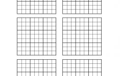 Empty Sudoku Board Printable
