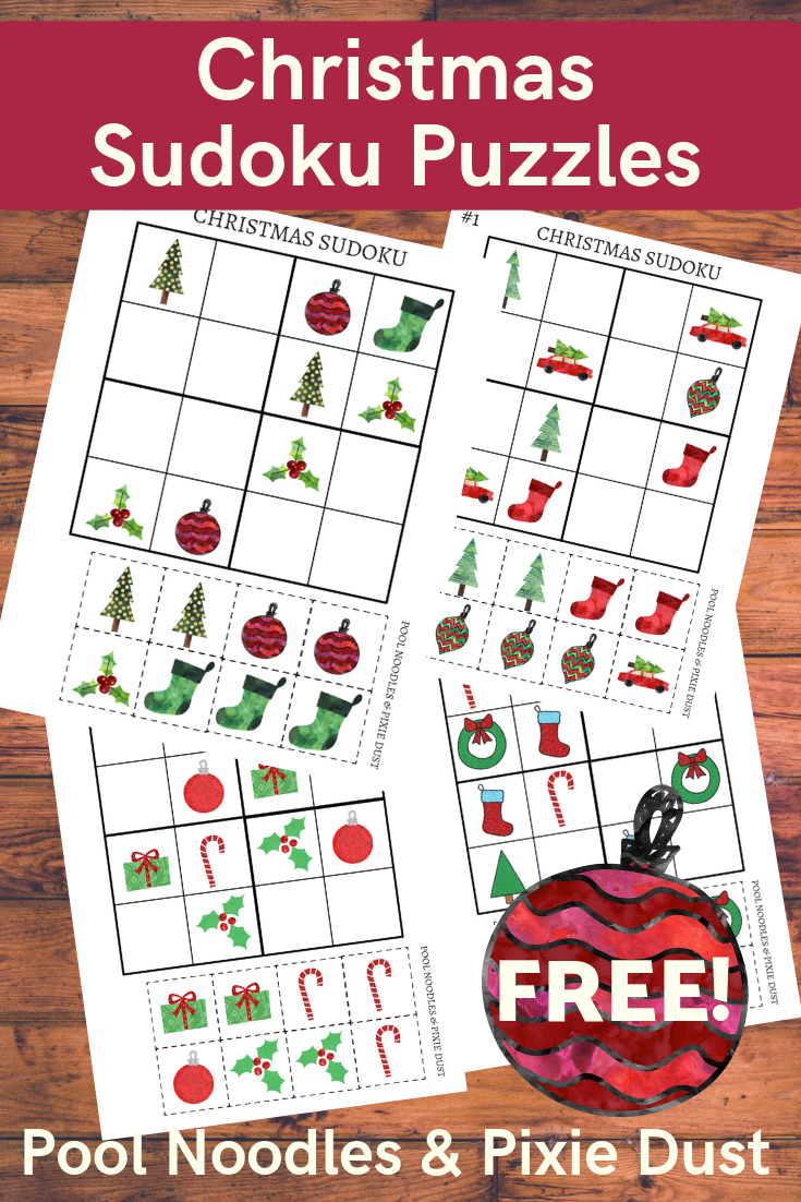 Free Printable Christmas Sudoku Puzzles For Kids | Money