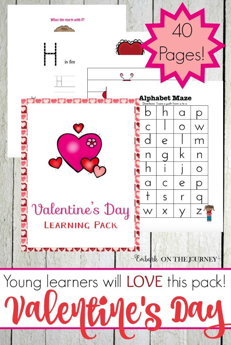 Free Printable Valentine Worksheets For Preschoolers