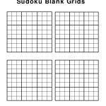 Free+Printable+Blank+Sudoku+Grids | Sudoku, Sudoku Printable