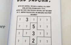 Printable Sudoku 5×5