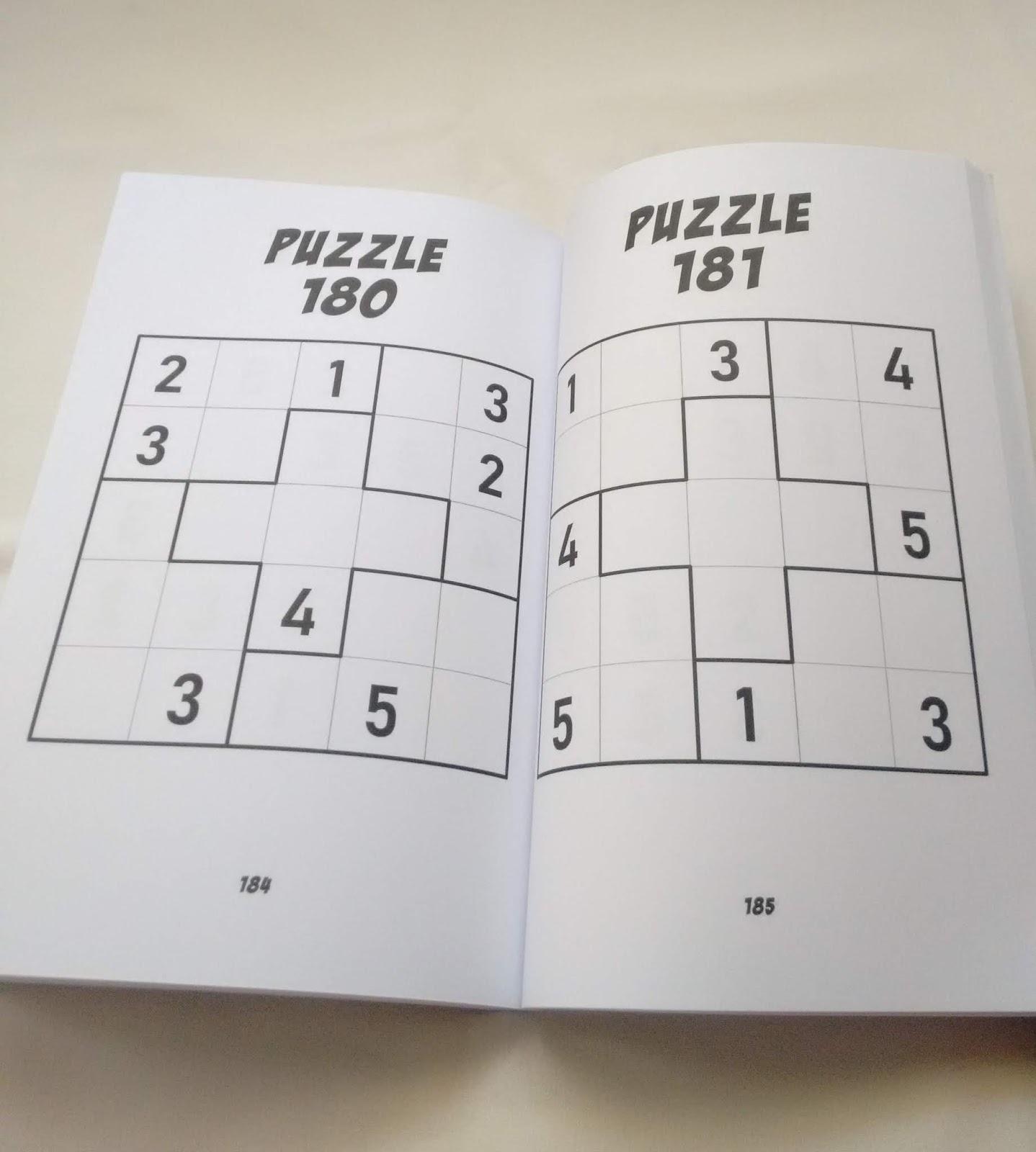 Gabriel Fernandes' Puzzle Collection: 5X5 Sudoku - Vol.1
