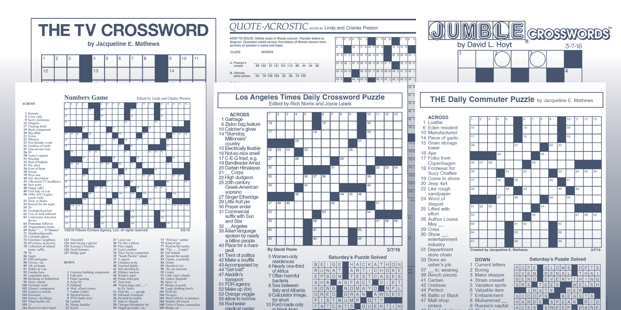 Games And Puzzles | Tribune Content Agency