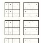 Gratis Printservice En Gratis Sudoku Kleuters In 2020