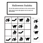 Halloween Easy Sudoku | Free Printable Puzzle Games