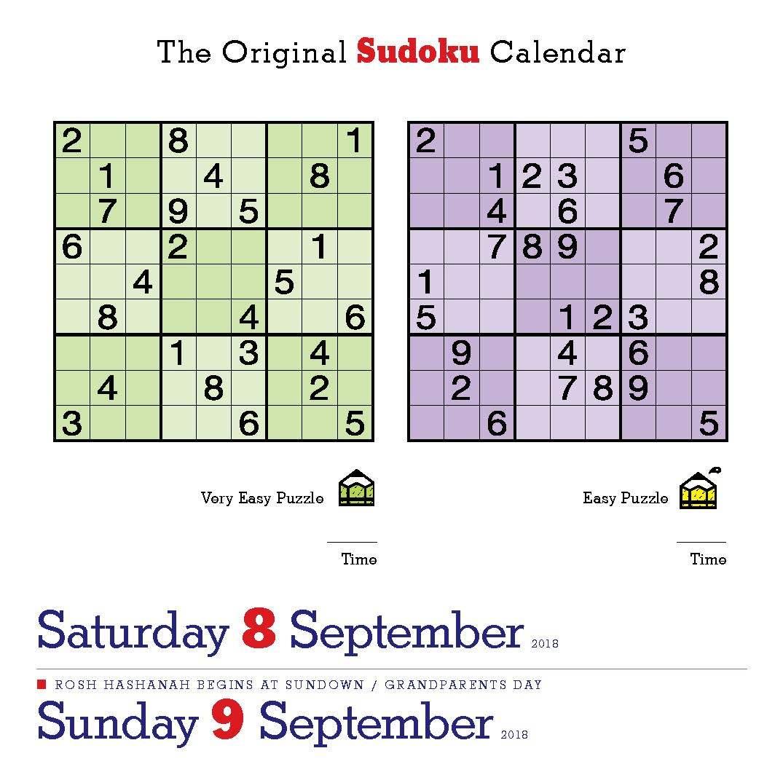 Happy International Sudoku Day! Page-A-Day