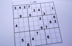Hard Printable Sudoku Puzzles 2 Per Page – Book 1 – Free