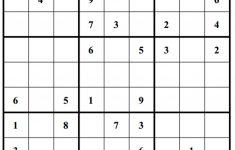 Sudoku Printable Free Hard