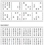 Hexadecimal Sudoku Solver | Simplicio Javellana Samonte