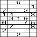 How To Solve 9X9 Sudoku Puzzles Mathematically