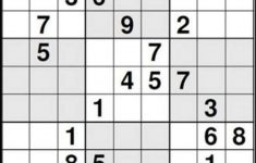 I Heard That This Is The Most Difficult Sudoku Problem. The