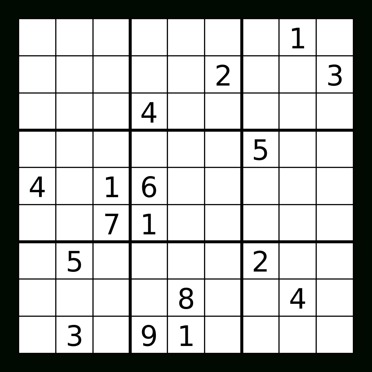 Is A 'legit' Sudoku Puzzle Supposed To Be Symmetrical