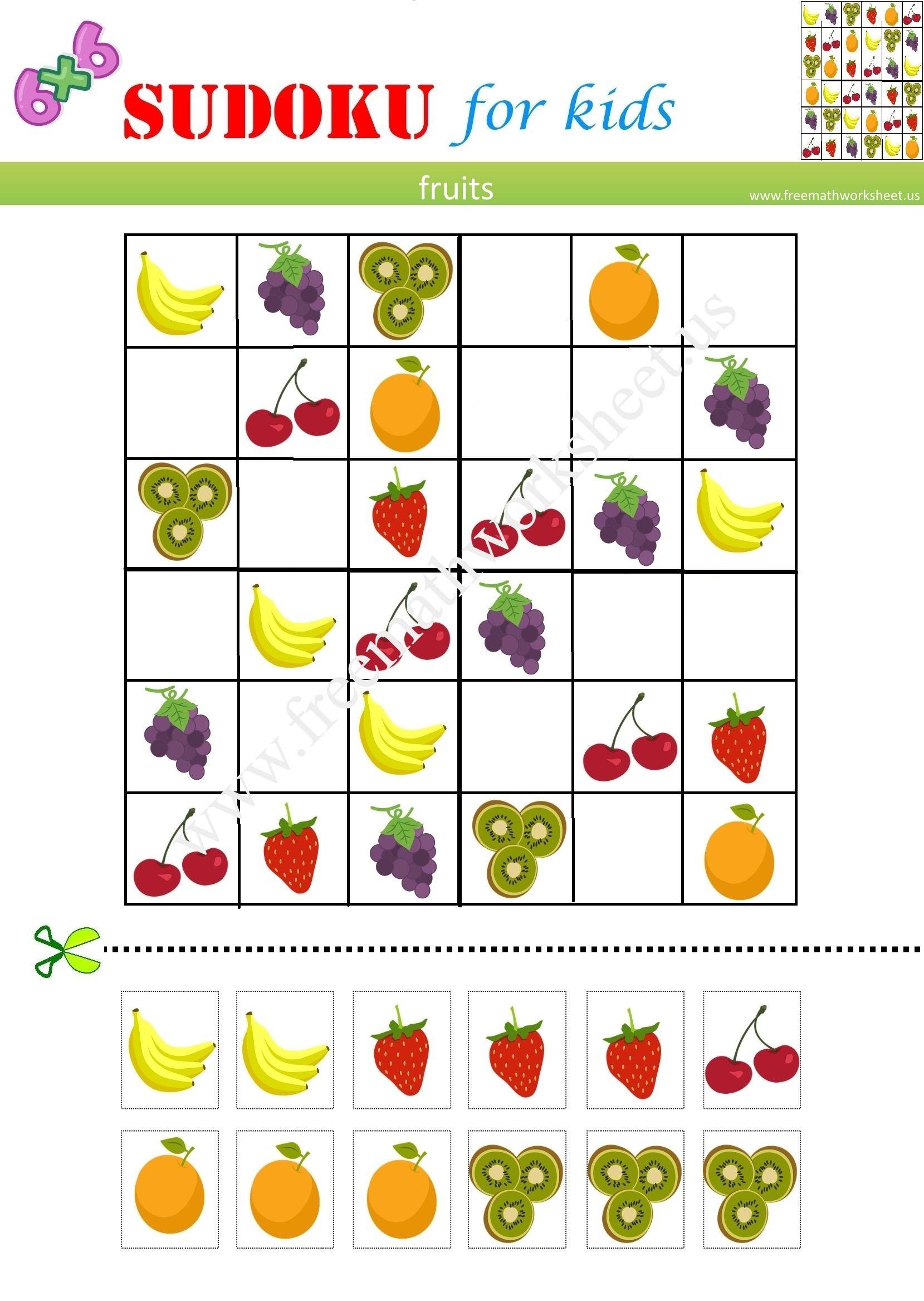 It Is Orjinal Sudoku 6X6 And Free Pdf  #picturesudoku