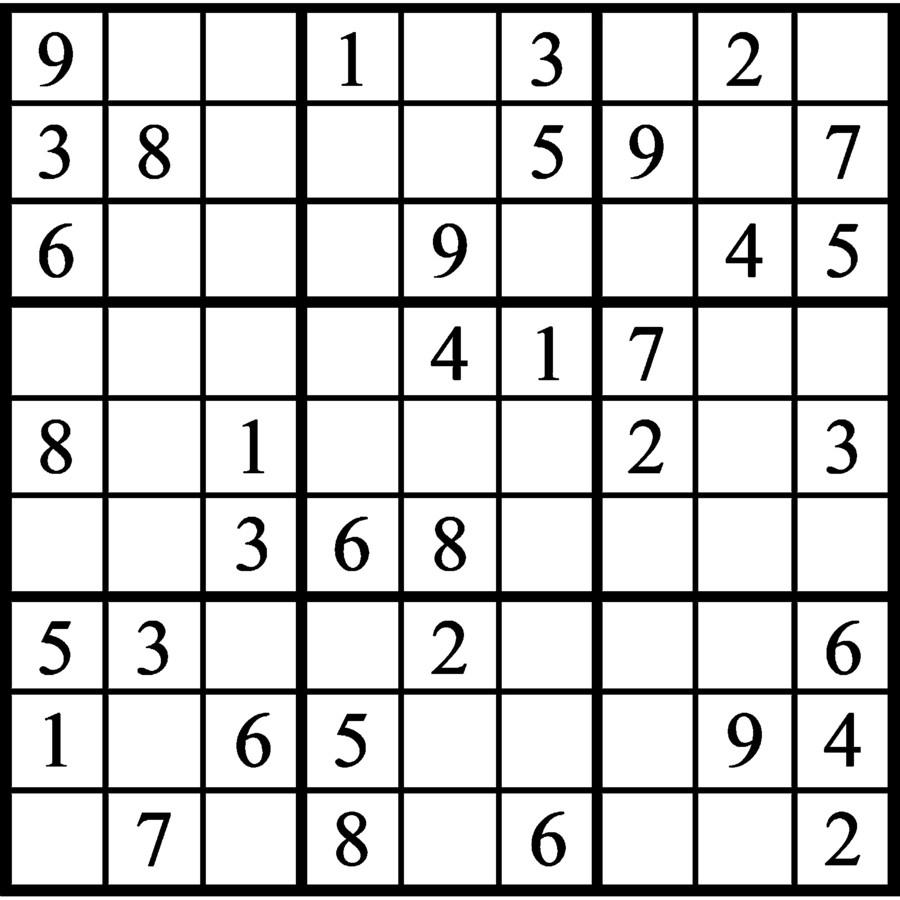 Janric Classic Sudoku | Creators Syndicate