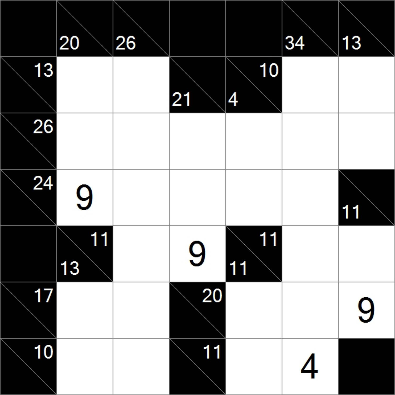 Kakuro Is A Logical Numerical Puzzle, The Mathematical
