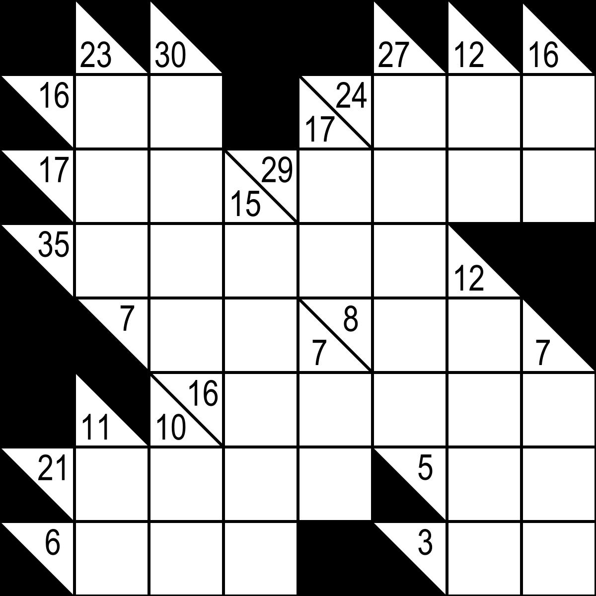 Kakuro - Wikipedia