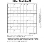 Killer Sudoku #1   Krazydad Pages 1   10   Text Version