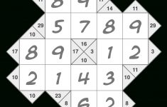 Killer Sudoku Printable Krazydad