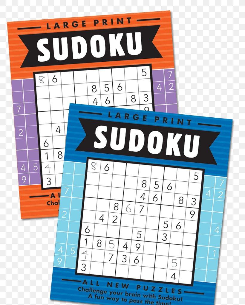 Large Print Sudoku Super Sudoku Puzzle Book, Png, 800X1024Px