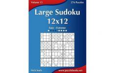 Free Printable Sudoku 12×12