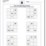 Magic Square Puzzle 3X3 Non Normal Set 2! Magic Square