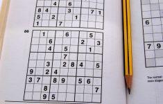 Printable Sudoku 6 Per Page Medium