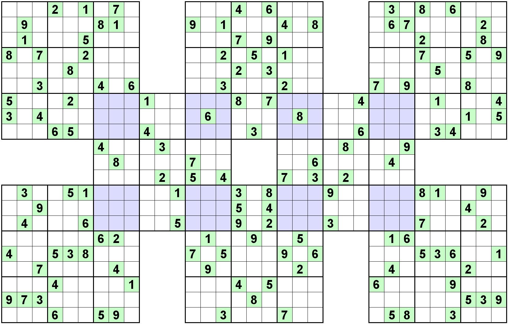 Number Logic Puzzle 11089