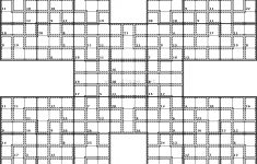Samurai Sudoku Printable With Answers