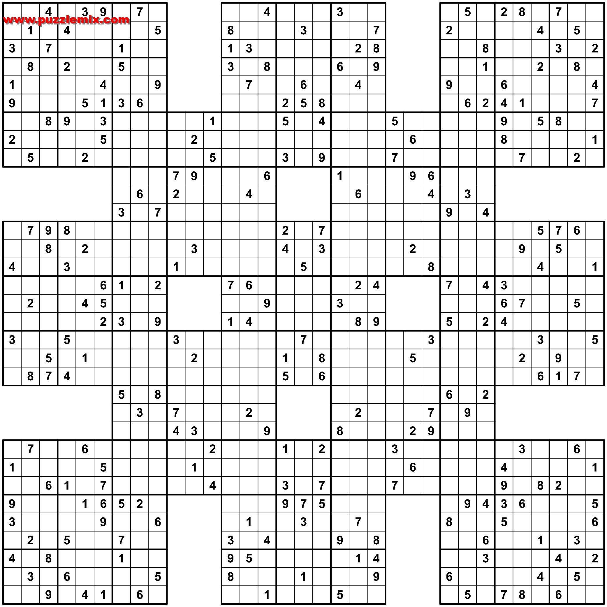 Pin Van Sh R. Op Sudoku