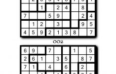 Easy Jigsaw Sudoku Printable