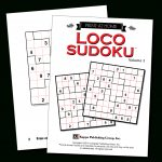 Print At Home Loco Sudoku