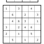 Printable Activities For Kids | Sudoku Puzzles, Printable