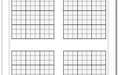 Printable Blank Sudoku Squares