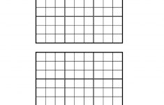 Printable Sudoku 4 Per Page Blank