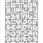 Printable Blank Sudoku Worksheets   Printable Worksheets And