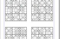 Beginning Sudoku Printable