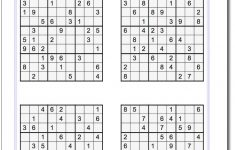 Sudoku Puzzles Printable Difficult