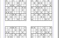 Sudoku Puzzle Printable Medium