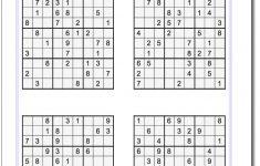 Printable Sudoku Puzzles Free Download