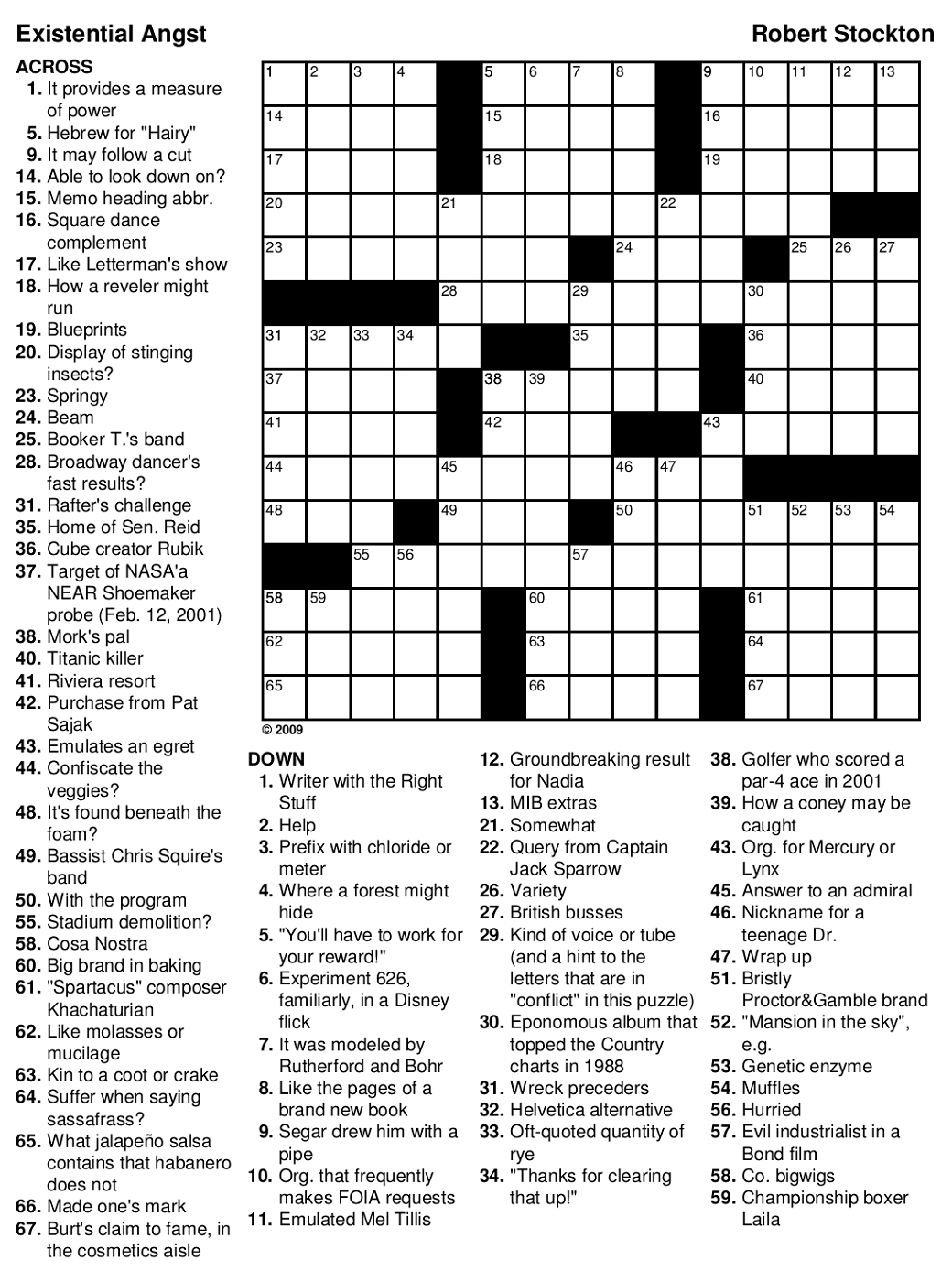 Printable Games For Adults | Crossword Puzzles, Printable