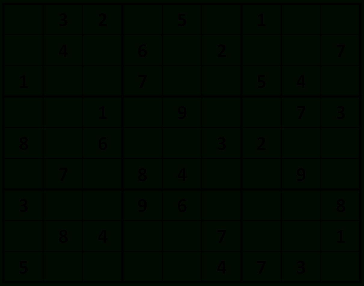 Printable Sudoku: Easy Sudoku For Children