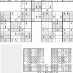 Printable Sudoku High Five, Aug. 1   [Pdf Document]