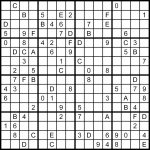 Printable Sudoku. Postedmatt At 0110 No Comments. A 2525